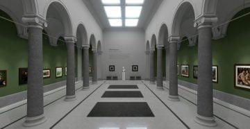 галерея «Аркада», демонстрирующая работы старых мастеров