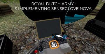 Перчатки с тактильной отдачей для армии Нидерландов