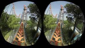 Изображение видео для очков виртуальной реальности
